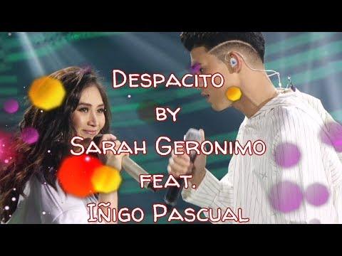 Sarah Geronimo ft. Iñigo Pascual - Despacito (Lyric Video)