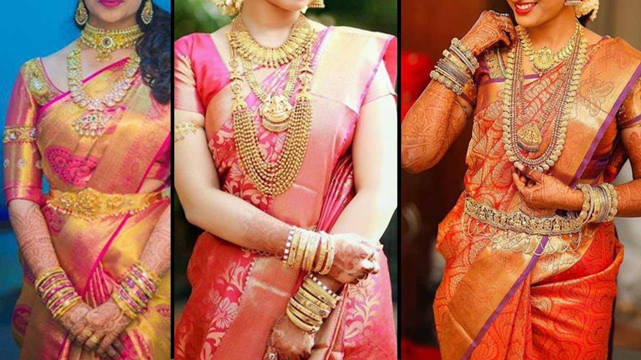 2018 Wedding Saree Collection Kanchipuram Sarees