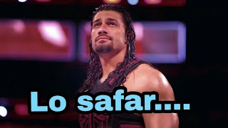 """Lo safar shuru Ho gaya"" roman reigns 😢😢emotional 😢😢"