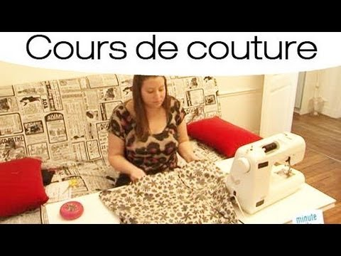 comment coudre une jupe lastique youtube. Black Bedroom Furniture Sets. Home Design Ideas