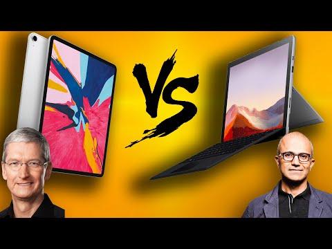Microsoft Surface Pro 7 vs iPad Pro 12.9 - It's Closer Than Ever!