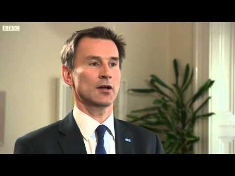 Jeremy Hunt grilled on BBC Newsnight 26/04/16