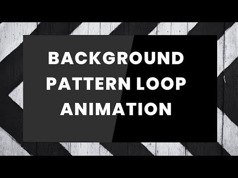CSS Background Pattern loop animation | CSS animation Tutorial thumbnail