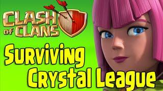 Clash of Clans - Surviving Crystal League (Giants/Archers)