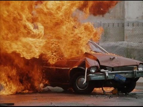 The Infamous Fireball Crash Testing A Ford Pinto Youtube