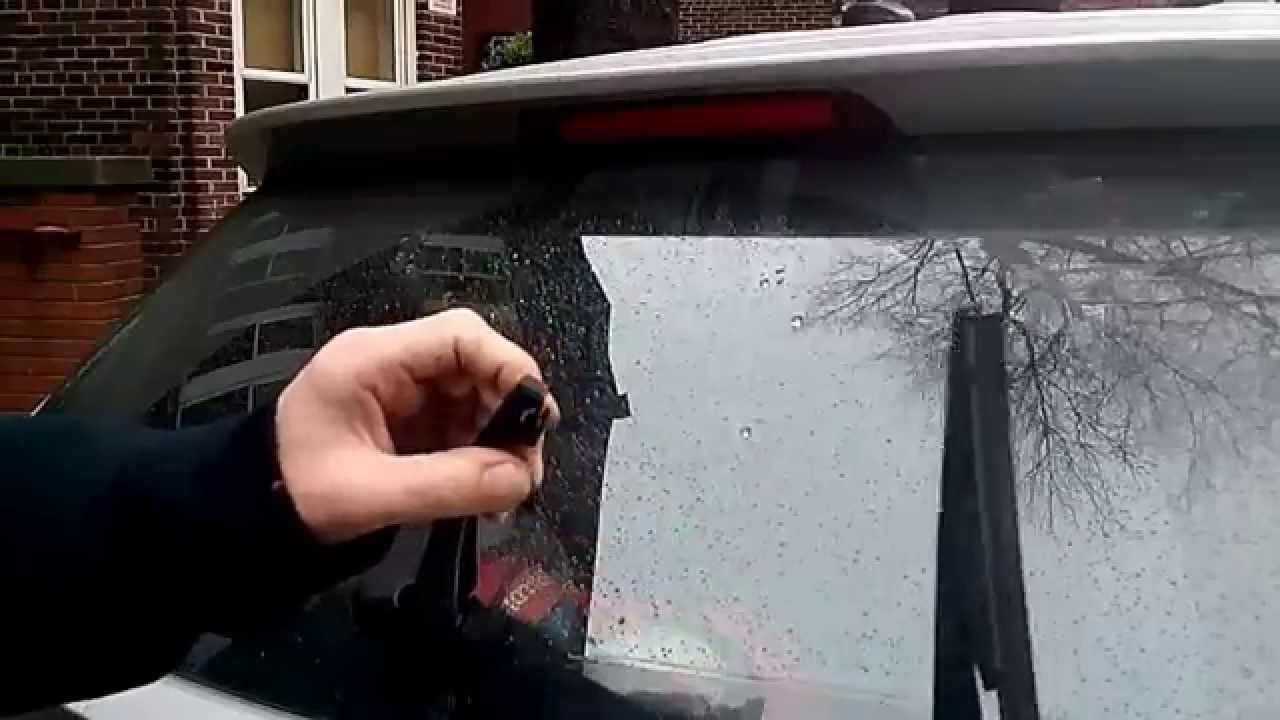 How to replace hyundai tucson rear wiper