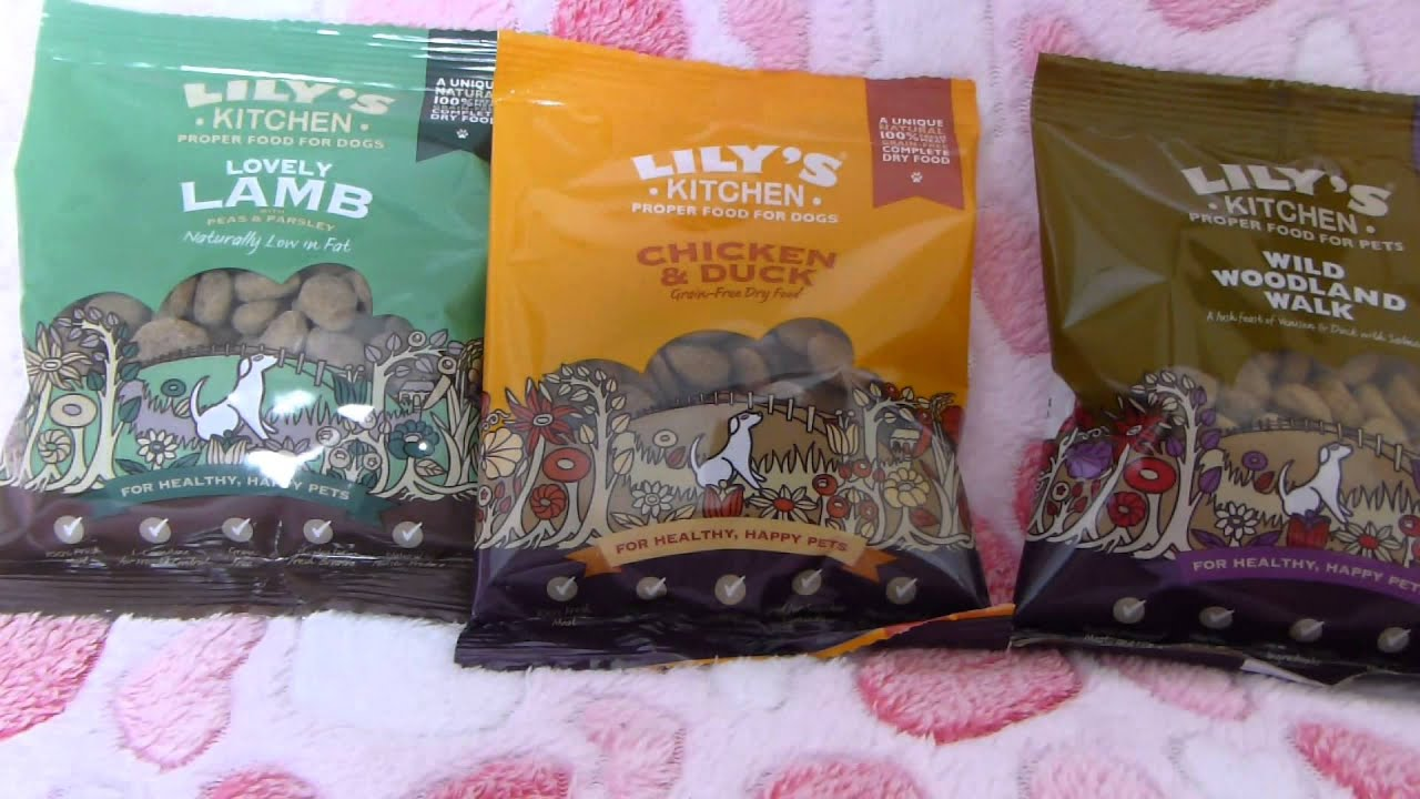 Review: Lily\'s kitchen dry dog food - YouTube