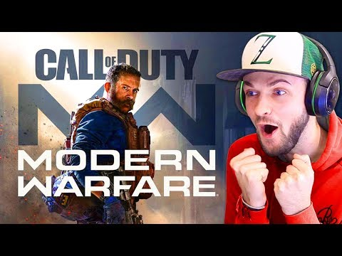 Call of Duty 2019 TRAILER - Ali-A reacts! (COD Modern Warfare)