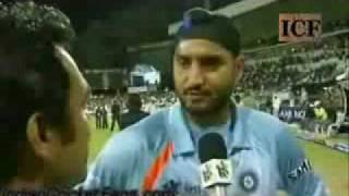 SREESANTH SLAPPED- (most viewed video in india this month).flv