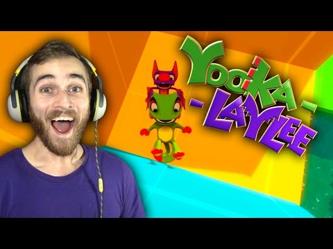 GIMME DAT PAGE! | Yooka-Laylee Toybox