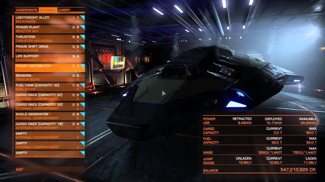 Switching back to a Python (Elite Dangerous) - YouTube
