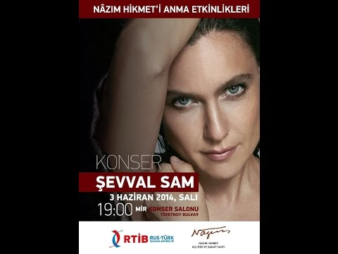 Şevval Sam MIR (Dünya) Konser Salonu Moskova Konseri - Full - 03 Haziran 2014