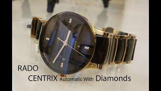 Rado Centrix Men s watch with 8 diamonds