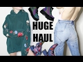 HUGE TRY ON CLOTHING HAUL + Dollskill, LF, Subdued, Free People
