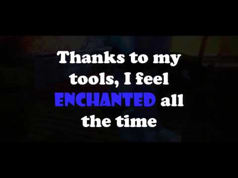 MINECRAFT MUSIC - ENCHANTED (LYRICS)