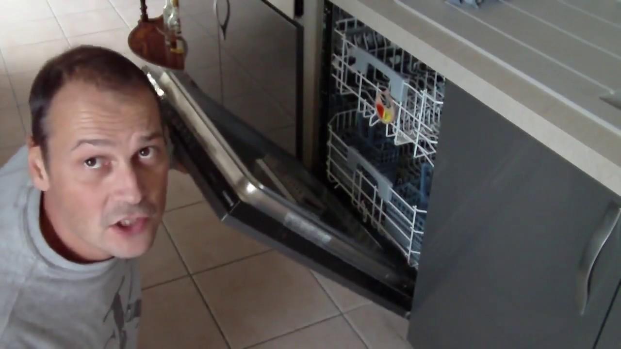 reparation de mon lave vaisselle le ressort et les joints