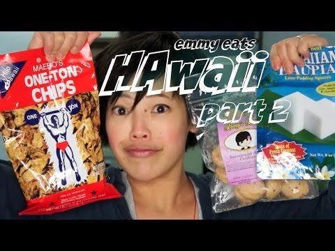Emmy Eats Hawaii part 2 - tasting more Hawaiian treats