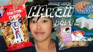 Emmy Eats Hawaii part 2 - tasting more Hawaiian treats