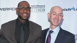 The NBA ratings and tickets sale are in serious decline