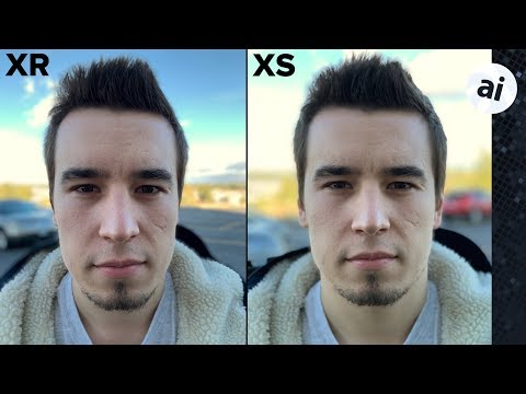 XR vs XS Max Real-World Camera Differences