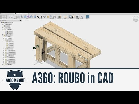 Fusion 360: Roubo in CAD