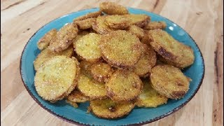 Fried Squash - The Easy Way - 100 Year Old Recipe - The Hillbilly Kitchen