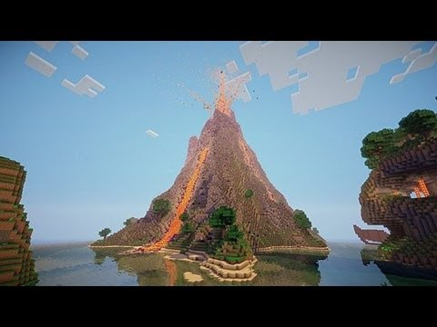 Minecraft 1.7 Update: Volcano Biomes, Fishing, NEWS!