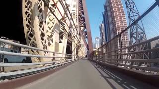 Bike Ride Through New York City Bicycle Ride Video(Bike Ride Through New York City Bicycle Ride New York City How to ride bicycle in New York City a video guide of new york city bicycle route and roads., 2013-06-14T18:07:47.000Z)