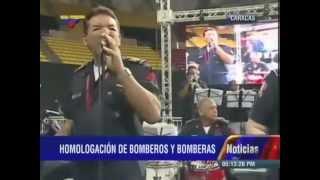 Evento del Pdte Nicolás Maduro con Bomberos y Bomberas, Poliedro de Caracas
