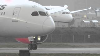 787 Severe Weather Departure Delivery Flight