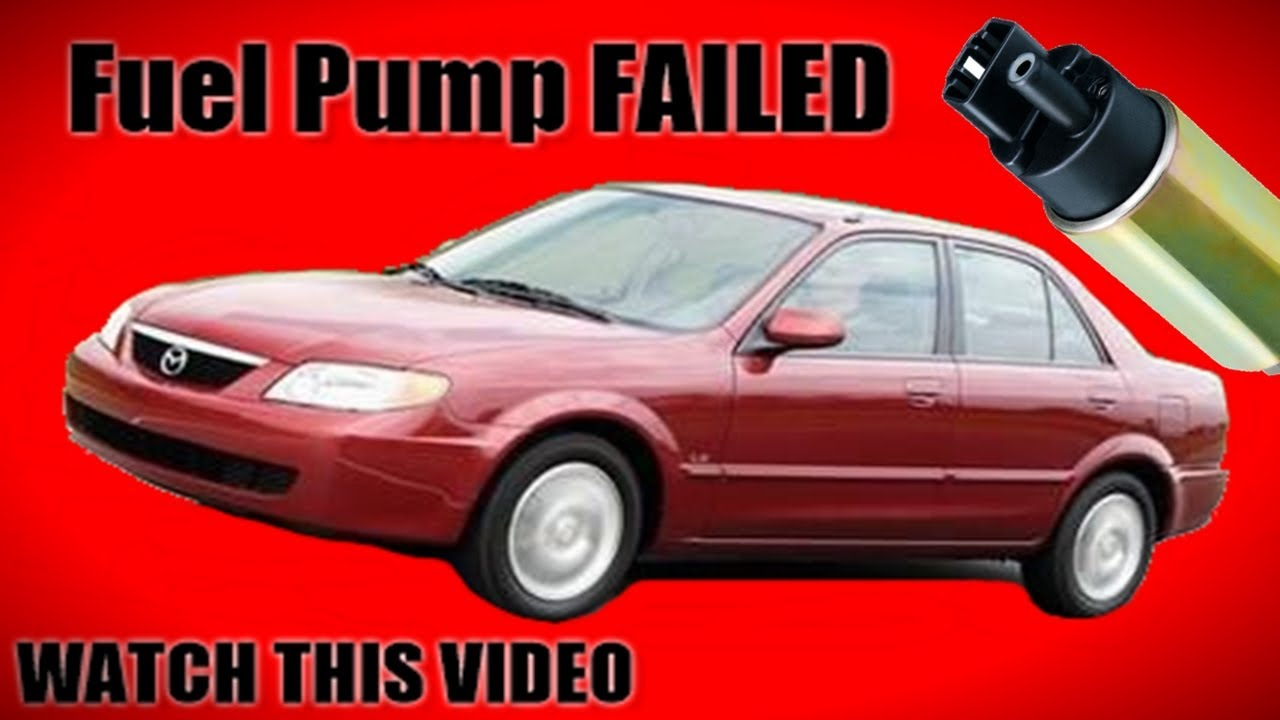 mazda protege fuel pump replacement how to youtubemazda protege fuel pump replacement how to