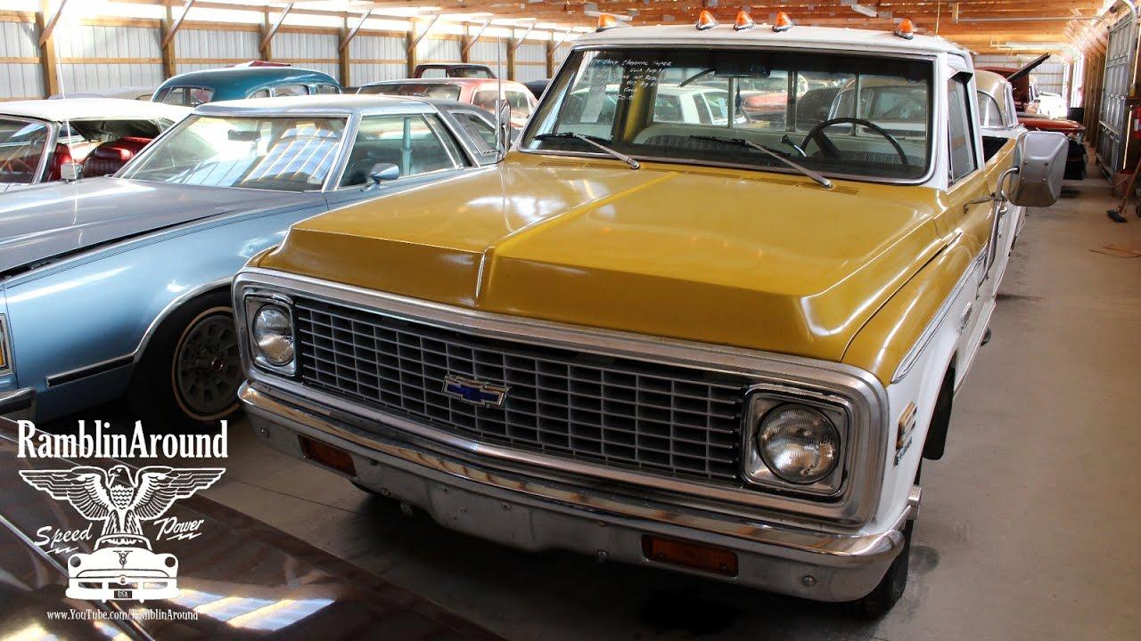 1971 chevy cheyenne pickup 402 big block v8 [ 1280 x 720 Pixel ]
