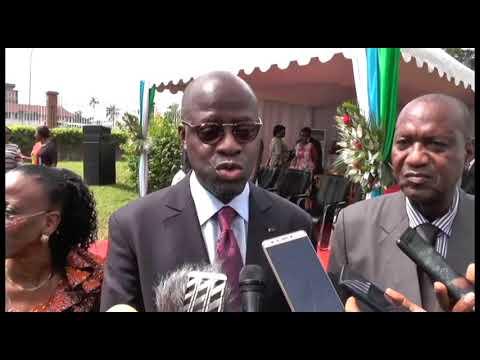 Interview du Ministre Alain-Richard Donwahi