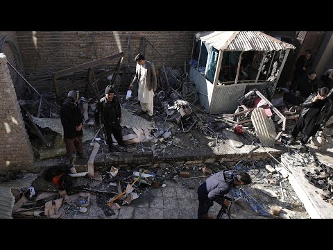 Dozens die in Isis suicide bombing in Kabul