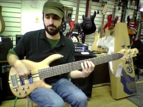 Cort A6 Bass overview. Grandcentral Music.