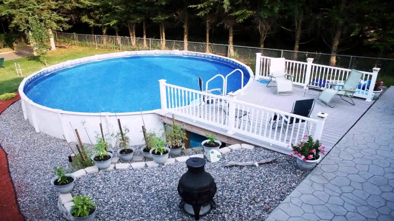 Diy Pool Deck Decorating Ideas Gif Maker Daddygif Com See Description Youtube