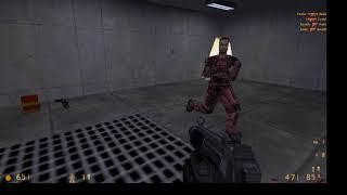 Half Life vs. bot \ cross fire