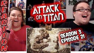 Attack on Titan 3x20 REACTION!!
