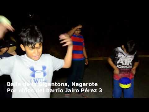 Nagarote,  Niños Interpretan El Baile De La Gigantona