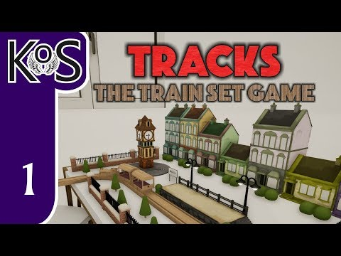 Tracks: The Train Set Game Ep 1: TINY WOODEN TRAINS! - First Look - Let's Play Gameplay Early Access