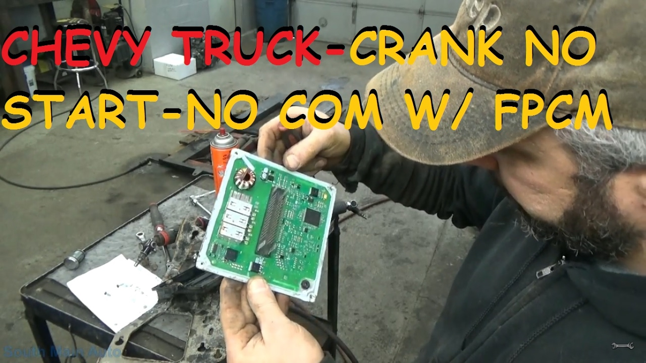 Chevy Gmc Truck Crank No Start Communication With Fpcm Youtube 2008 Lmm Fuel Filter Replacement