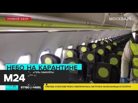 Часть авиакомпаний в РФ прекратили свою деятельность - Москва 24