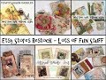 Etsy  Restock - Junk Journal Snippet Bookmarks, Altered Animal Art, Old Books - Lots of Fun Stuff
