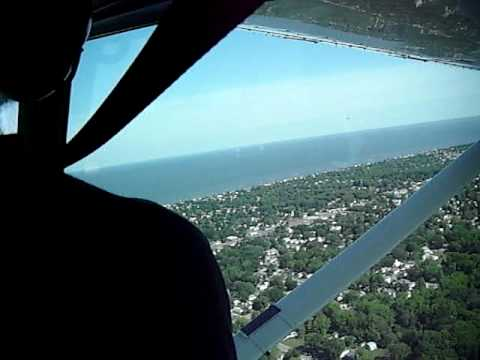 Flying over Cape May County, NJ: takeoff (2 of 6)