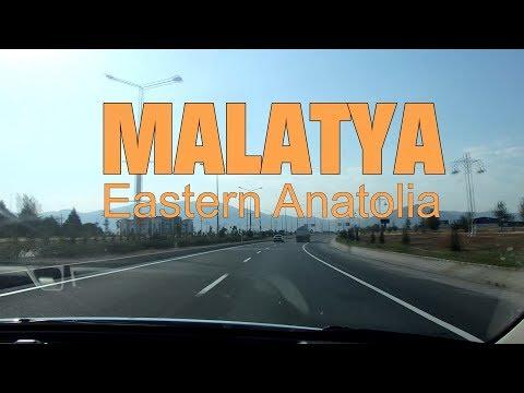 MALATYA CITY, TURKEY..Walking And Driving Through Malatya Streets