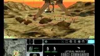 Star Wars Force Commander video game trailer