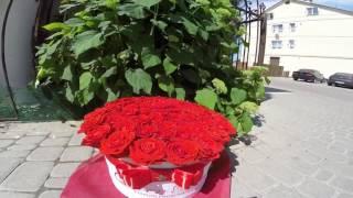 Цветы в шляпных коробках Киев, мегобукет(Наша компания Queen Box рада представить вашему вниманию Цветы в шляпных коробках, МЕГОБУКЕТЫ, Доставка по..., 2016-06-09T08:51:13.000Z)
