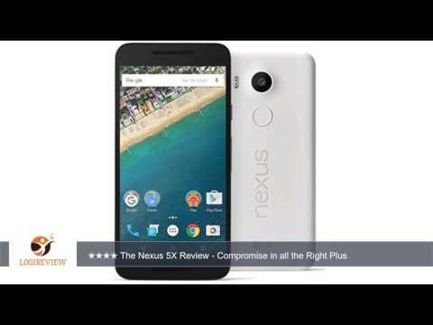 "LG Nexus 5X Unlocked Smart Phone, 5.2"" Quartz White, 32GB Storage, US Warranty   | Review/Test"