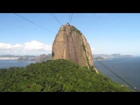Rio de Janeiro - Sugarloaf Mountain cable-car pt.1
