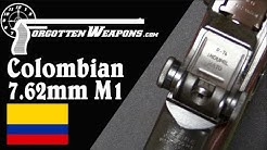 Colombian 7.62mm NATO M1 Garand Conversion